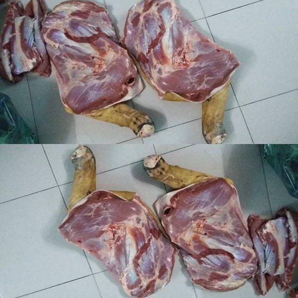 thịt đùi bò tơ củ chi