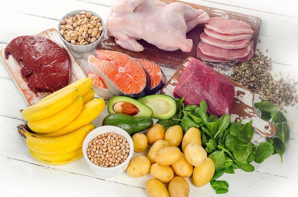 Thịt heo cũng là một thực phẩm giàu vitamin B